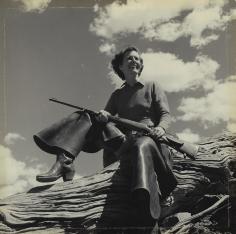 Toni Frissell, Mrs. Hendrick Eustis, Wyoming, 1939