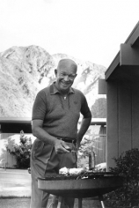 Sid Avery, Dwight D. Eisenhower Grilling, 1961