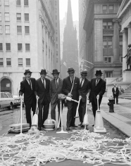 William Helburn, Clean Up New York Campaign: Wall Street, New York, circa 1960