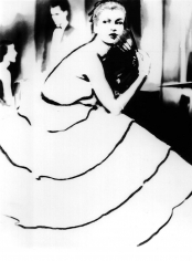 Lillian Bassman, Born to Dance: Margie Cato in a dress by Emily Wilkins, New York, 1950