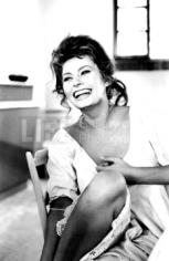 "Alfred Eisenstaedt,  Sophia Loren in ""Madame"", 1961"