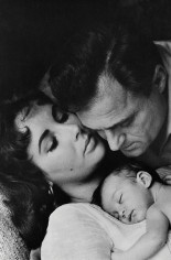Toni Frissell, Elizabeth Taylor, Mike Todd, and their daughter Liza, LIFE Magazine, 1957