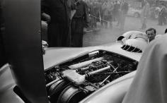 Jesse Alexander, Mercedes W196, Grand Prix of France, Reims, France, 1954