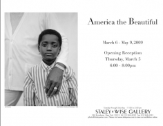 America the Beautiful, Exhibition Invitation