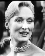 Ron Galella, Meryl Streep, 61st Annual Academy Awards, Shrine Auditorium, Los Angeles, 1989
