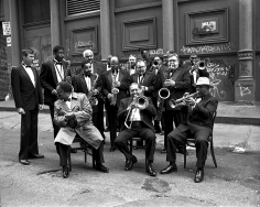 Arthur Elgort, Lincoln Center Jazz Orchestra, New York, 1992