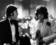 Ron Galella, John Lennon and Mick Jagger, Los Angeles, 1974