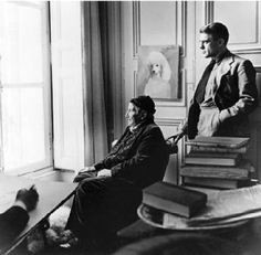 Horst,   Gertrude Stein and Horst, 1945