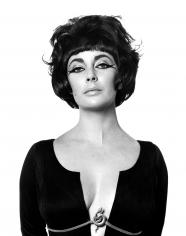 "Bert Stern, Elizabeth Taylor as ""Cleopatra"", Rome, 1962"