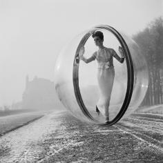 Melvin Sokolsky, After Delvaux, Paris, 1963
