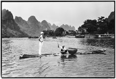 Arthur Elgort, Linda Evangelista, Guangxi, China, 1993