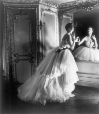 Louise Dahl-Wolfe, Dior Ballgown, Paris, 1950