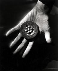 "Bert Stern, Marcel Duchamp, ""Hand"", 1967"