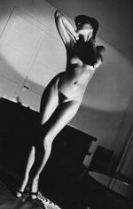 Helmut Newton, Nude on an Angle