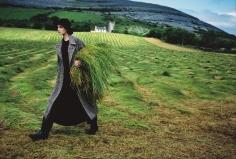 Arthur Elgort, Nadja Auermann, Ireland, 1993
