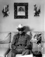 Mary Ellen Mark, Clayton Moore, the former Lone Ranger  at his home,  Los Angeles, California, 1992