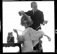 Bert Stern, Monique Chevalier with Kenneth, VOGUE, 1962