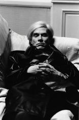 Helmut Newton, Andy Warhol in Paris, 1977