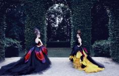 Patrick Demarchelier, Christian Dior Haute Couture, Fall/Winter 2010, 2011