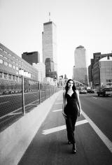 Stephanie Pfriender Stylander, Kate Moss (The Towers), New York, Italian Harper's Bazaar, 1992