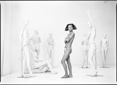Patrick Demarchelier Kate and Mannequins, 1992