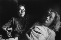 Dominique Nabokov, Marguerite Duras and Jackie Raynal, New York, 1980