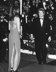 Ron Galella Cindy Crawford and Richard Gere at the 63 Annual Academy Awards, the Shrine Auditorium, Los Angeles, March 25, 1991