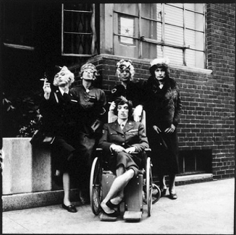 Jerry Schatzberg,  Rolling Stones in Drag, New York, 1966