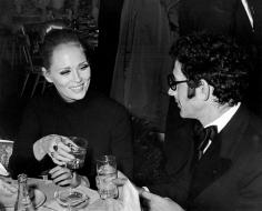 "Ron Galella, Faye Dunaway and Jerry Schatzberg, ""Cool Hand Luke"" Premiere Party, American Hotel, New York, 1967"