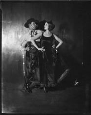 James Abbe, Rudolph Valentino and Natasha Rambova, New York, 1921