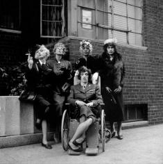 Jerry Schatzberg, Rolling Stones in Drag, 1966