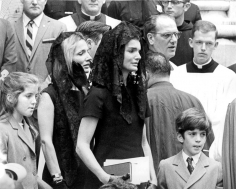 Ron Galella, Caroline Kennedy, Jackie Onassis, John F. Kennedy Jr., and Lee Radziwill, Robert F. Kennedy's Funeral, 1968