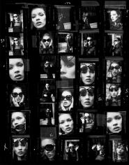 Stephanie Pfriender Stylander, Kate Moss (Desire), New York, Italian Harper's Bazaar, 1992