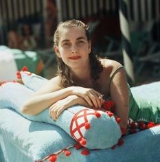 Slim Aarons, Barbara Hutton, Venice, 1958