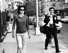 Ron Galella, Jacqueline Kennedy and Ron Galella, New York, 1971