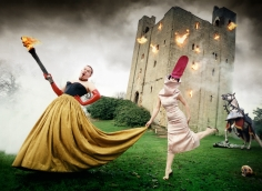 David LaChapelle, Alexander McQueen and Isabella Blow: Burning Down the House, Essex, England, Vanity Fair, 1996