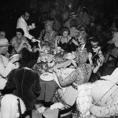 Slim Aarons, Safari Party, circa 1950: Guests at a fancy dress party held at the Romanoff Restaurant in Hollywood