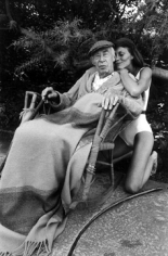 Mary Ellen Mark, Henry Miller and Twinka,  Pacific Palisades, California, 1975