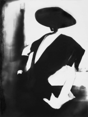 Lillian Bassman Black, - With One White Glove: Barbara Mullen, Dress by Christian Dior, New York, Harper's Bazaar, 1950