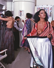 Harry Benson, Emanuel Ungaro with Models, Paris, 1977