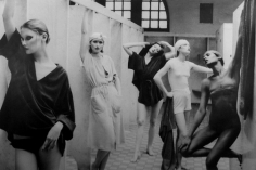 Deborah Turbeville, Bath House, American Vogue, 1975