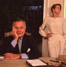 Harry Benson, Bill Blass with Josie Borain, New York, 1990