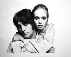 Bert Stern, Twiggy and Justin, 1967