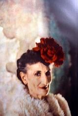 Deborah Turbeville, Portrait of Unknown Woman in Christian Dior, Havana, Cuba, Harper's Queen, 1998