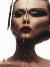 Ben Hassett, Woman Behind Glass (Alana Zimmer), VOGUE Japan, 2013