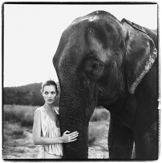Arthur Elgort, Kate Moss, Nepal, VOGUE UK, 1994