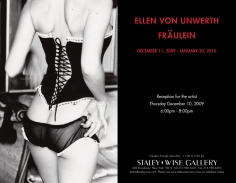 Ellen Von Unwerth, Exhibition Invitation