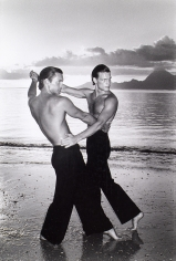 Chris von Wangenheim, Two Men Dancing on Beach, circa 1975