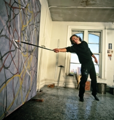 Harry Benson, Brice Marden, 1991