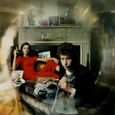 "Daniel Kramer, Bob Dylan and Sally Grossman (""Bringing it All Back Home"" Album Cover), Woodstock, New York, 1956"